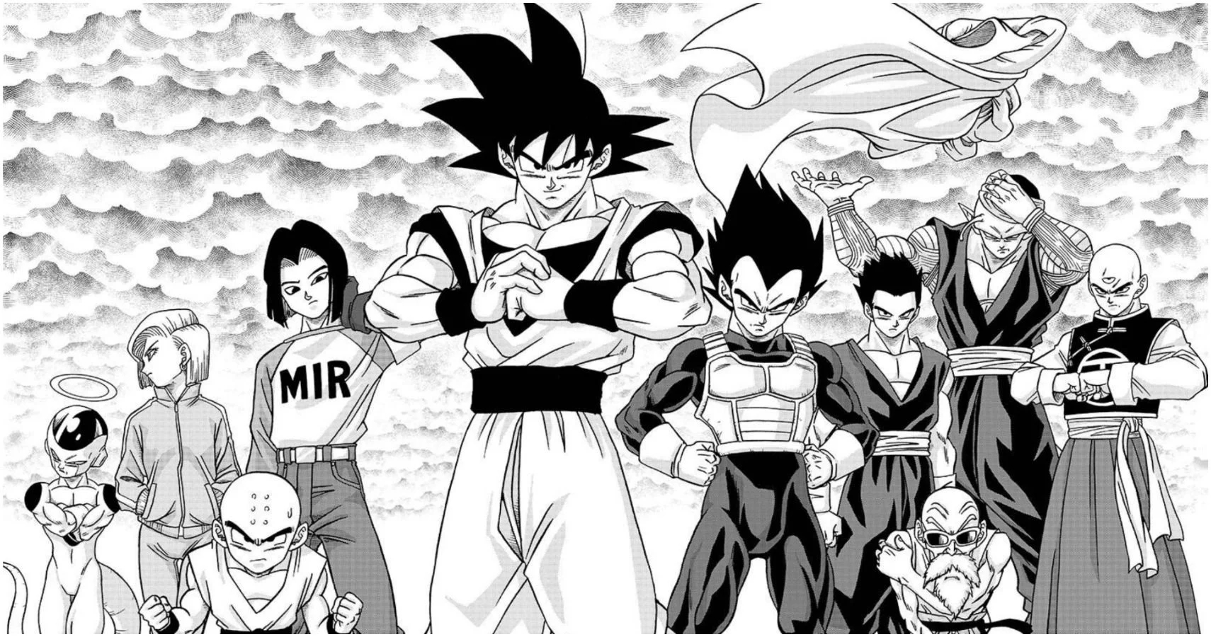 Dragon Ball Manga Header