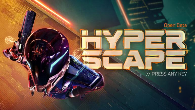 Hyper Scape Header