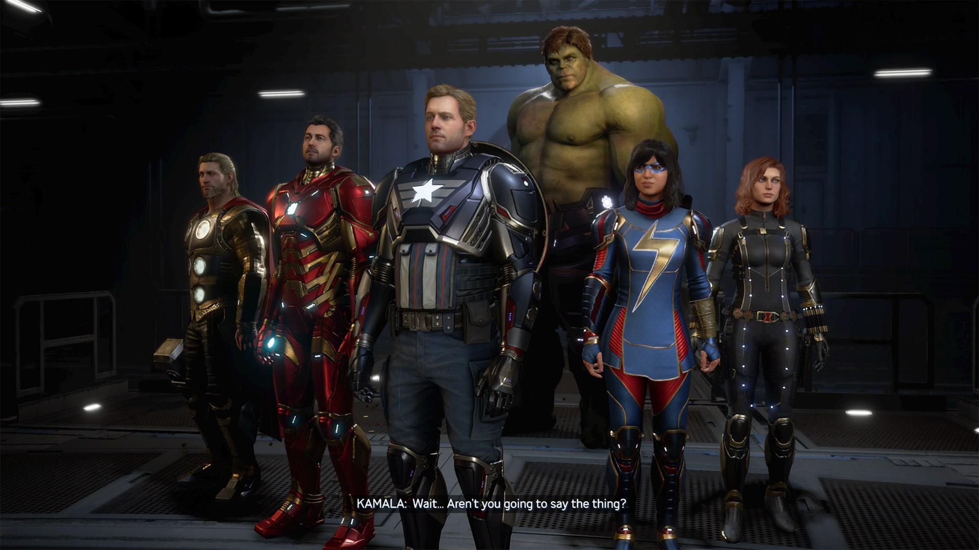 Marvel's Avengers Header