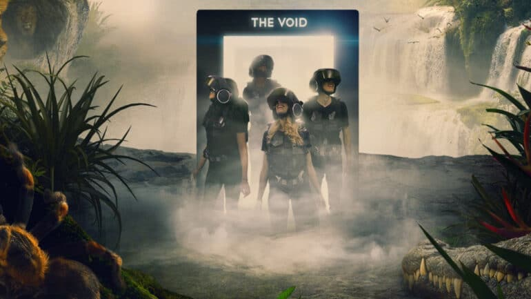 The Void Virtual Reality Header