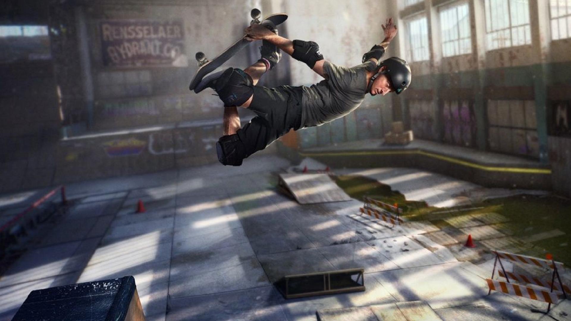 Tony Hawk Pro Skater 1 + 2 Header
