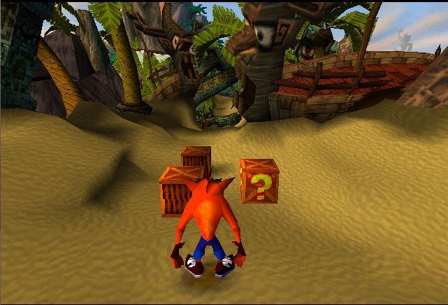 Crash Bandicoot Level one