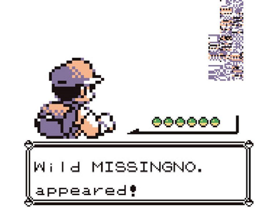 Missingno Glitches