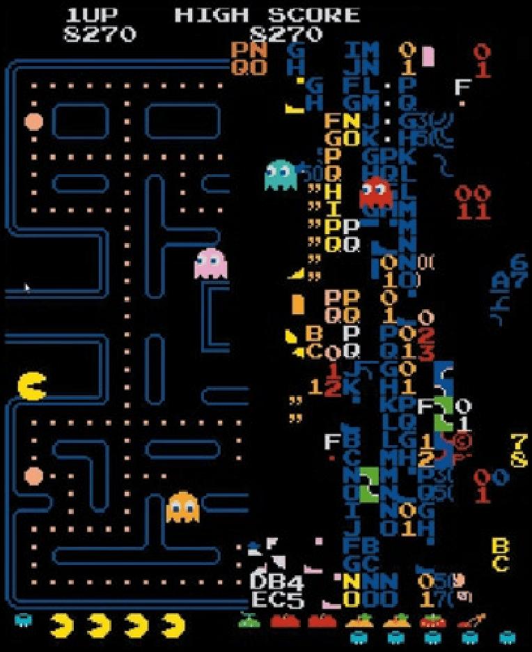Pac Man Glitches