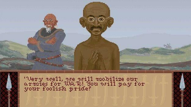 Gandhi Glitch
