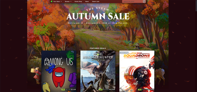 Steam-Autumn-Sale Backlog