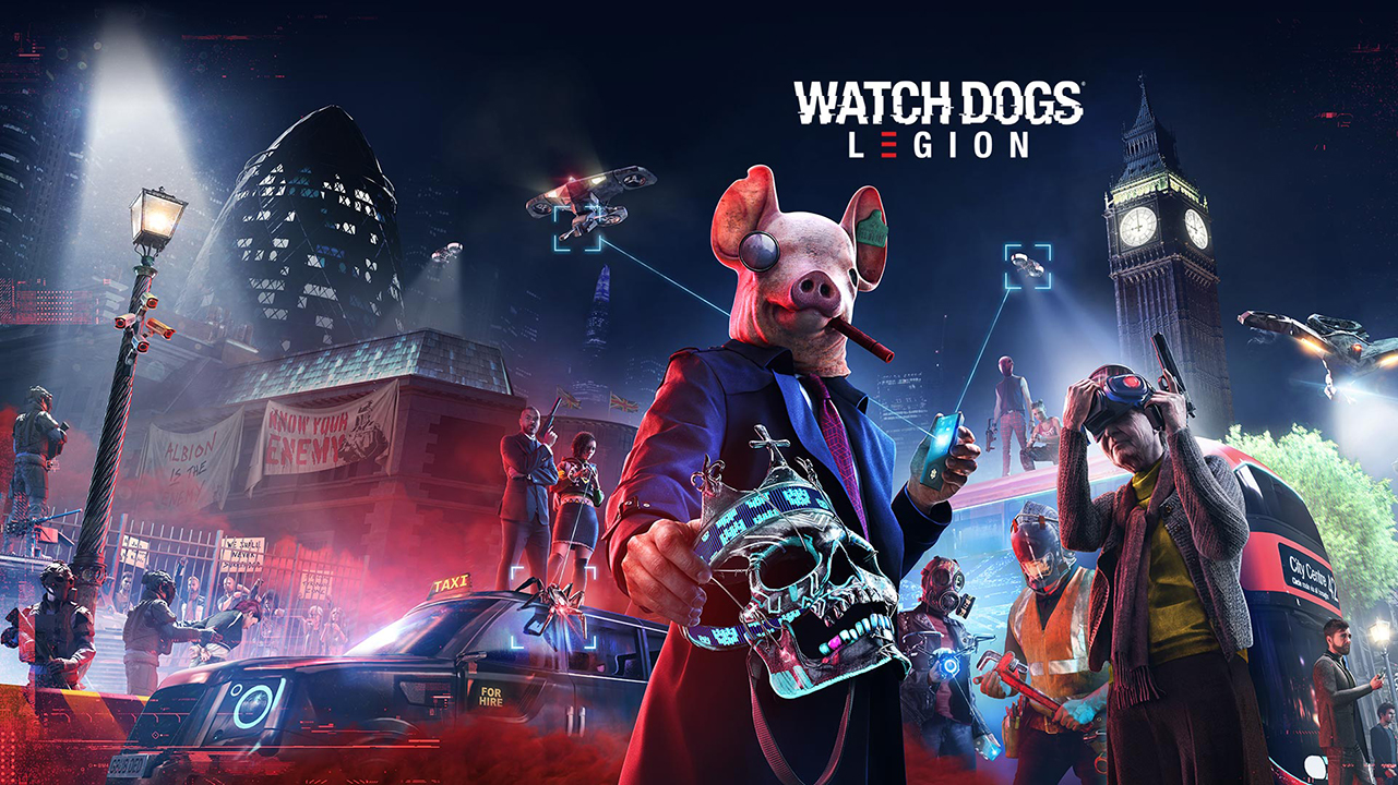 Watch dogs: Legion Header