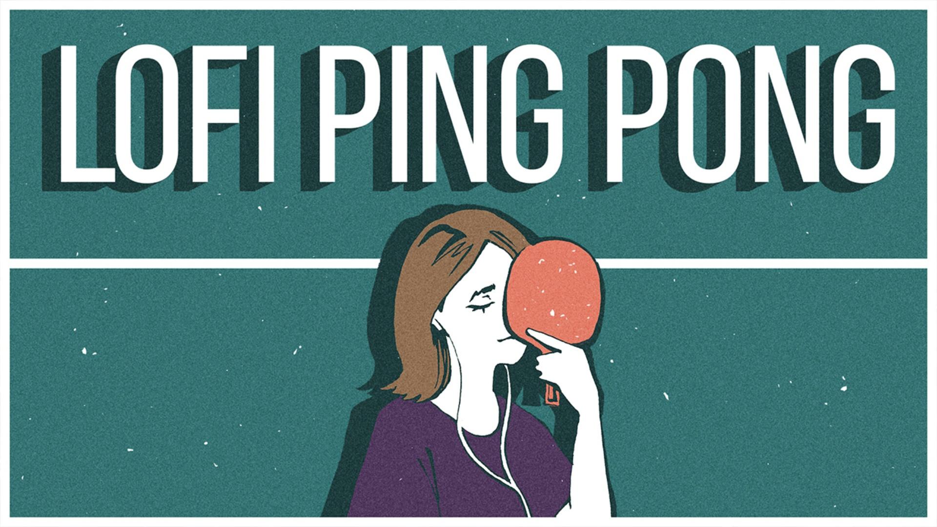 Lofi Ping Pong Header