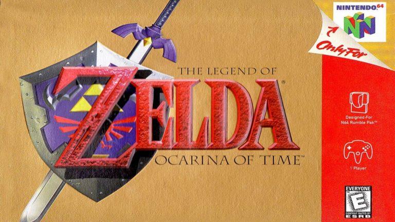 Ocarina of Time Header