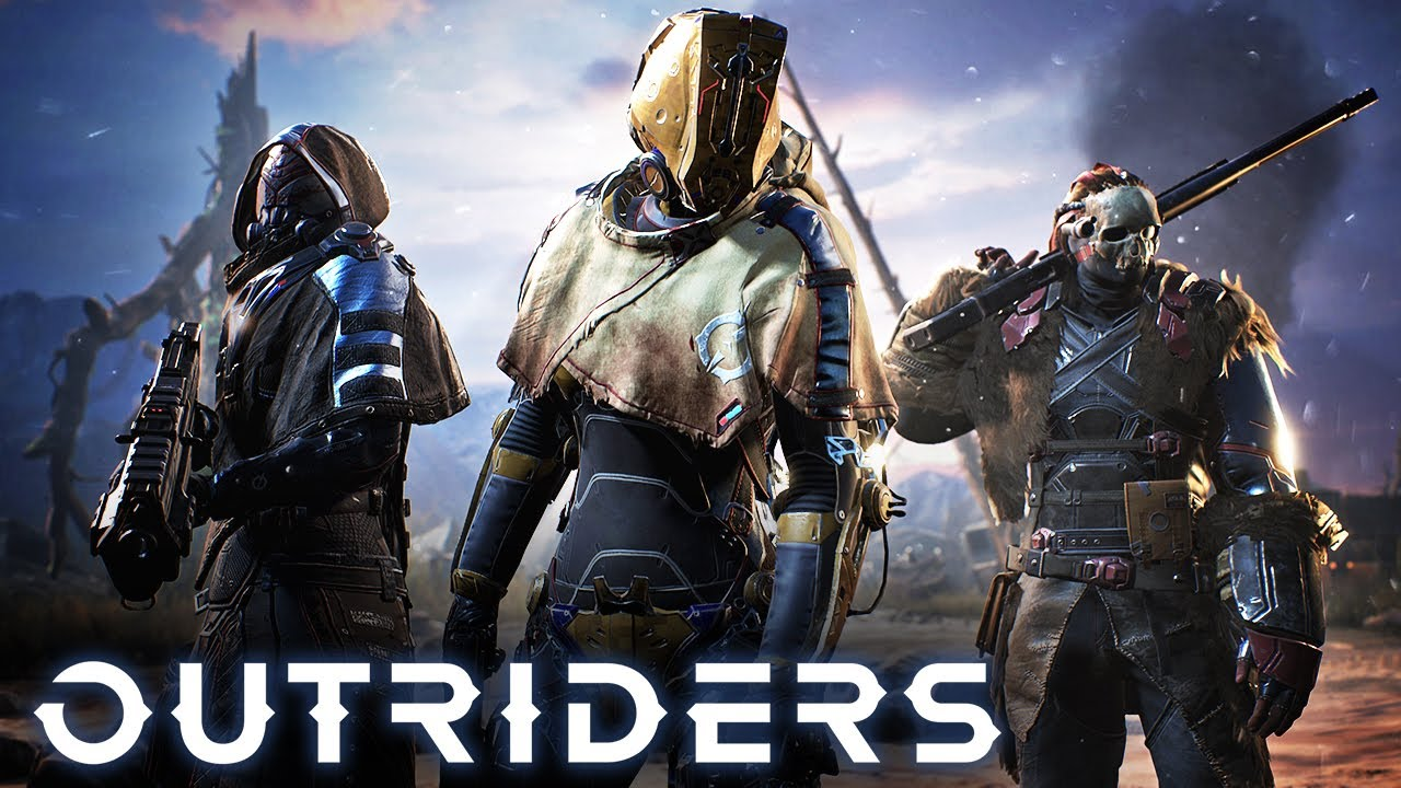 Outriders Game Title