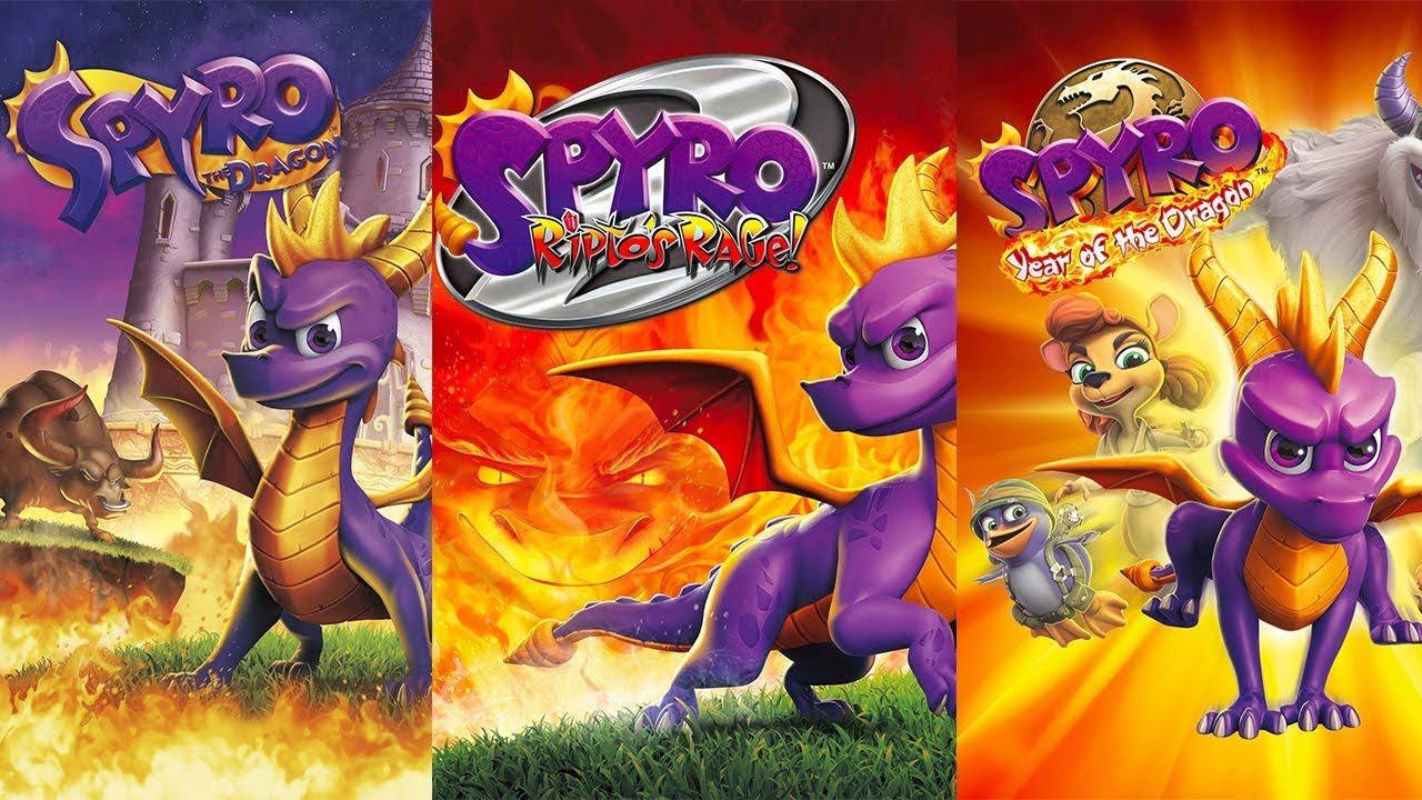 Spyro the Dragon Header