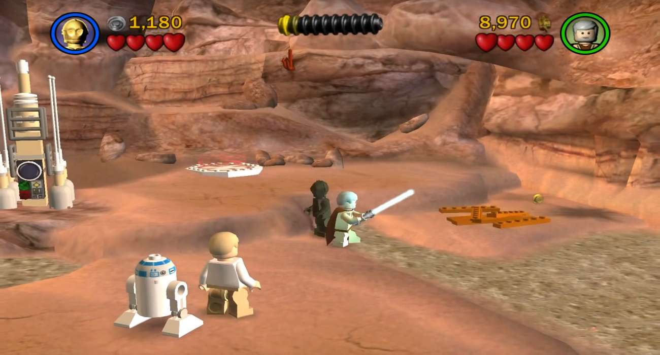 Star Wars Lego Game Lucasarts