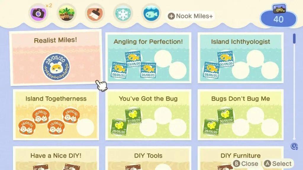 Animal Crossing: New Horizons Nook Miles