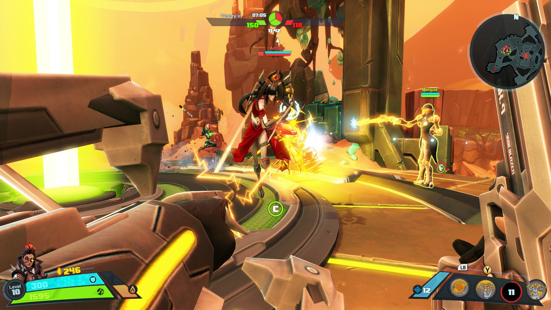 Battleborn - Gameplay
