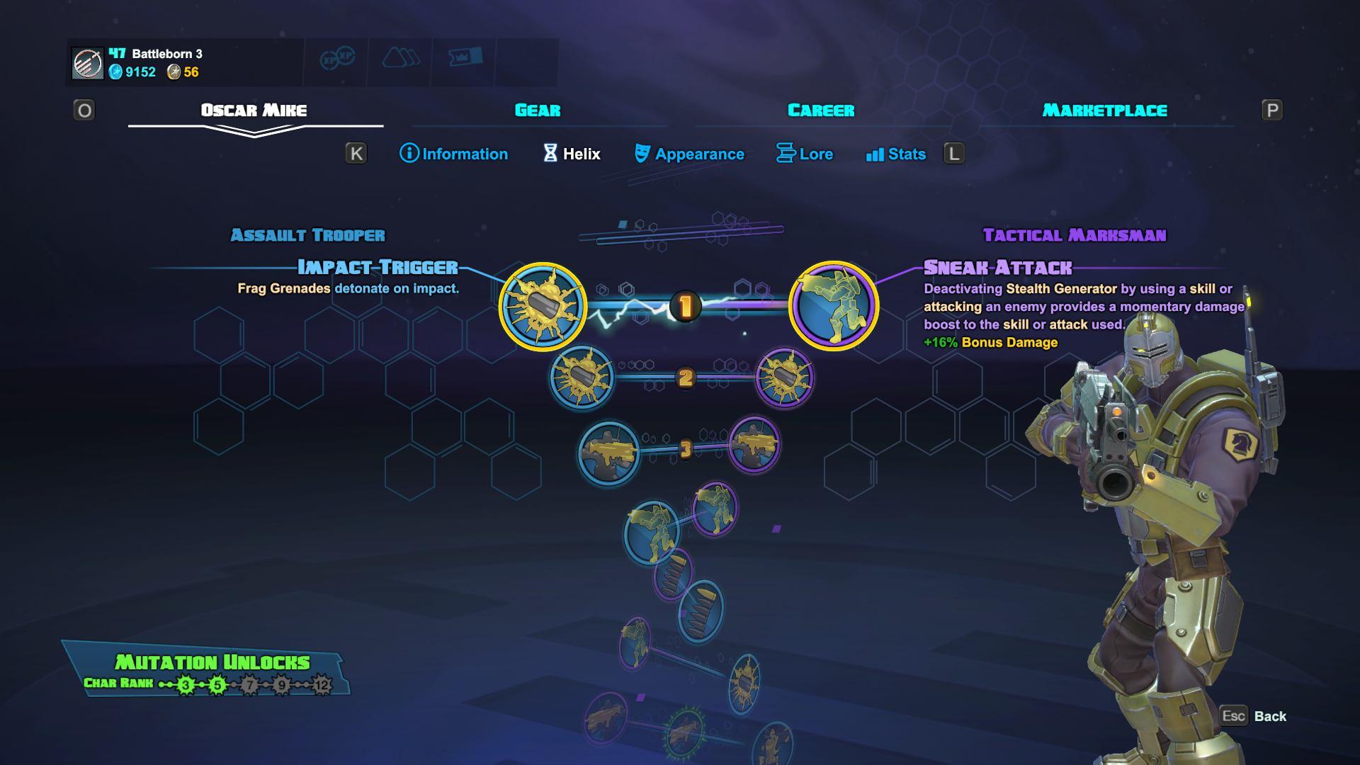 Battleborn - Skill Tree