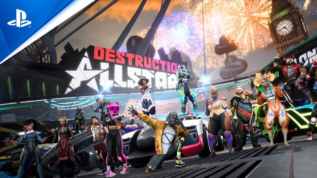 Destruction AllStars - Poster