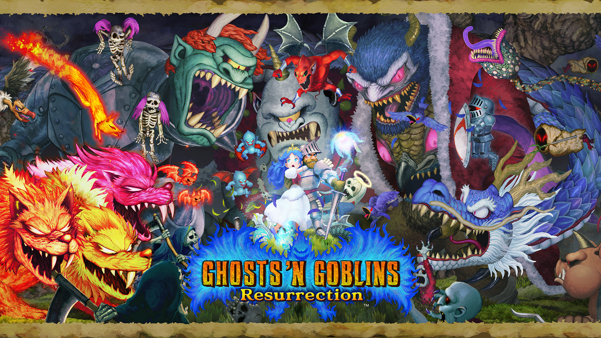 Ghosts 'N Goblins Resurrection - Poster