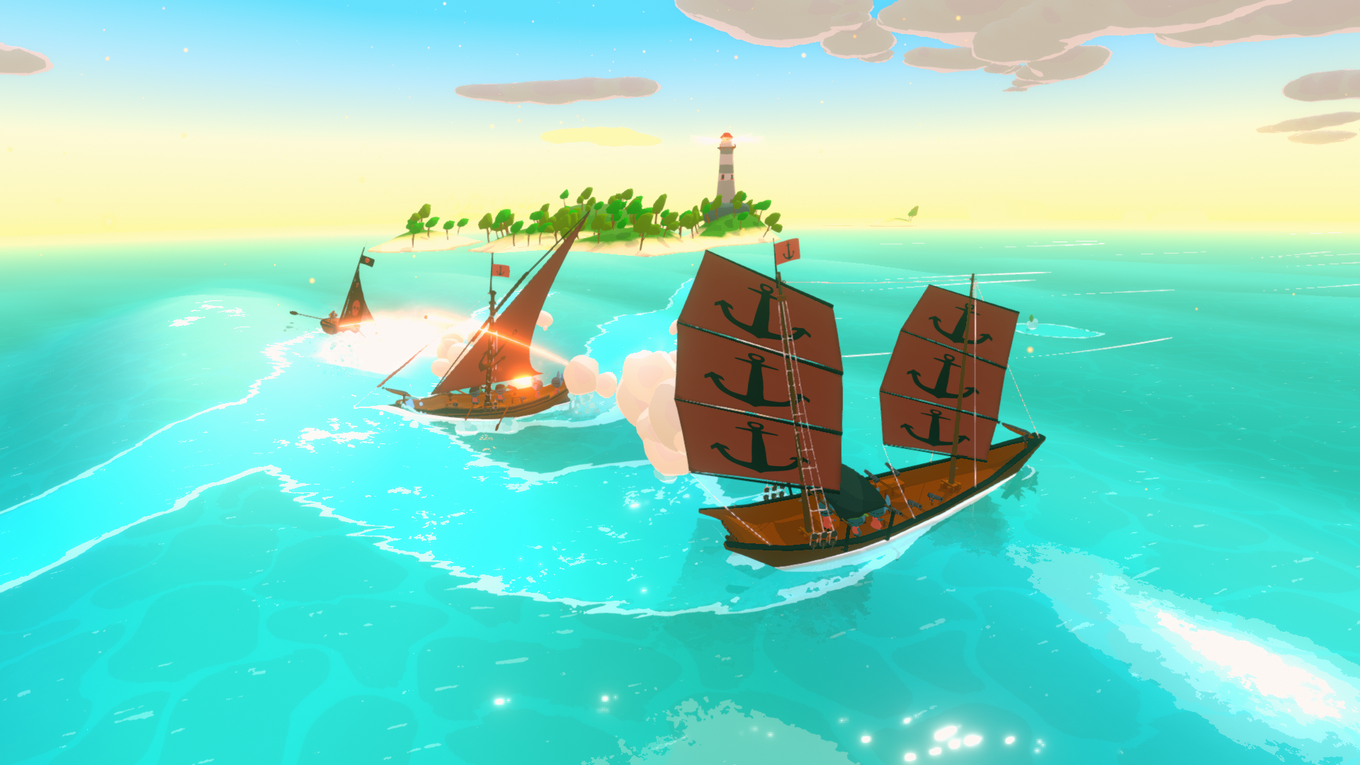 Sail Forth Combat