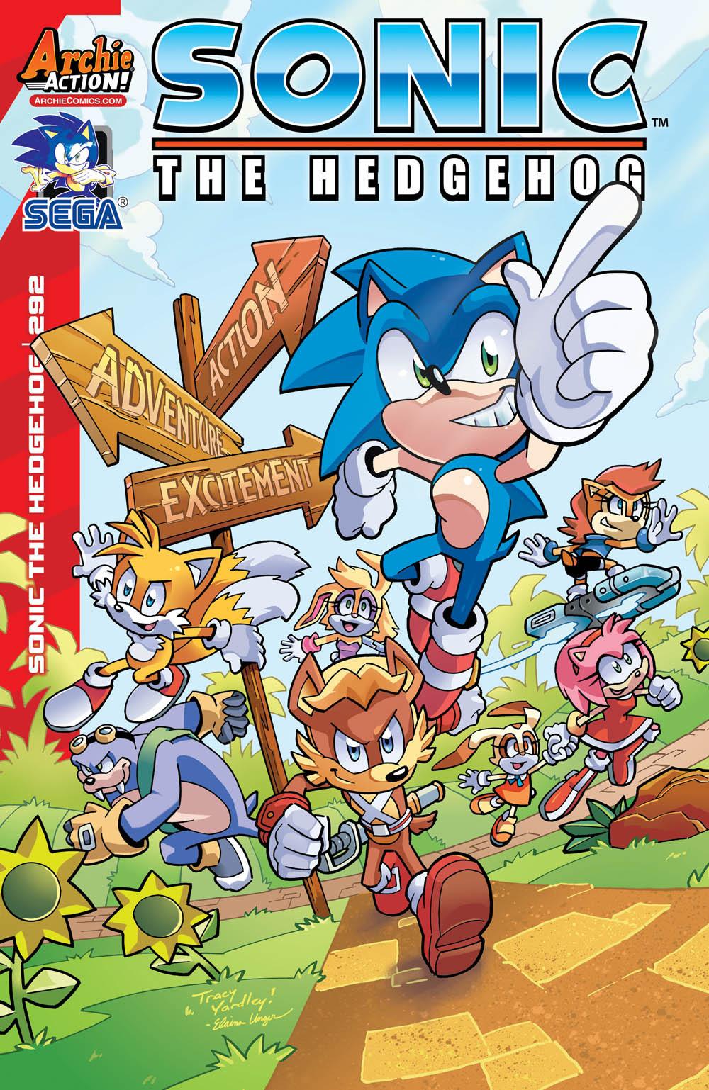 Comic Books - Sonic