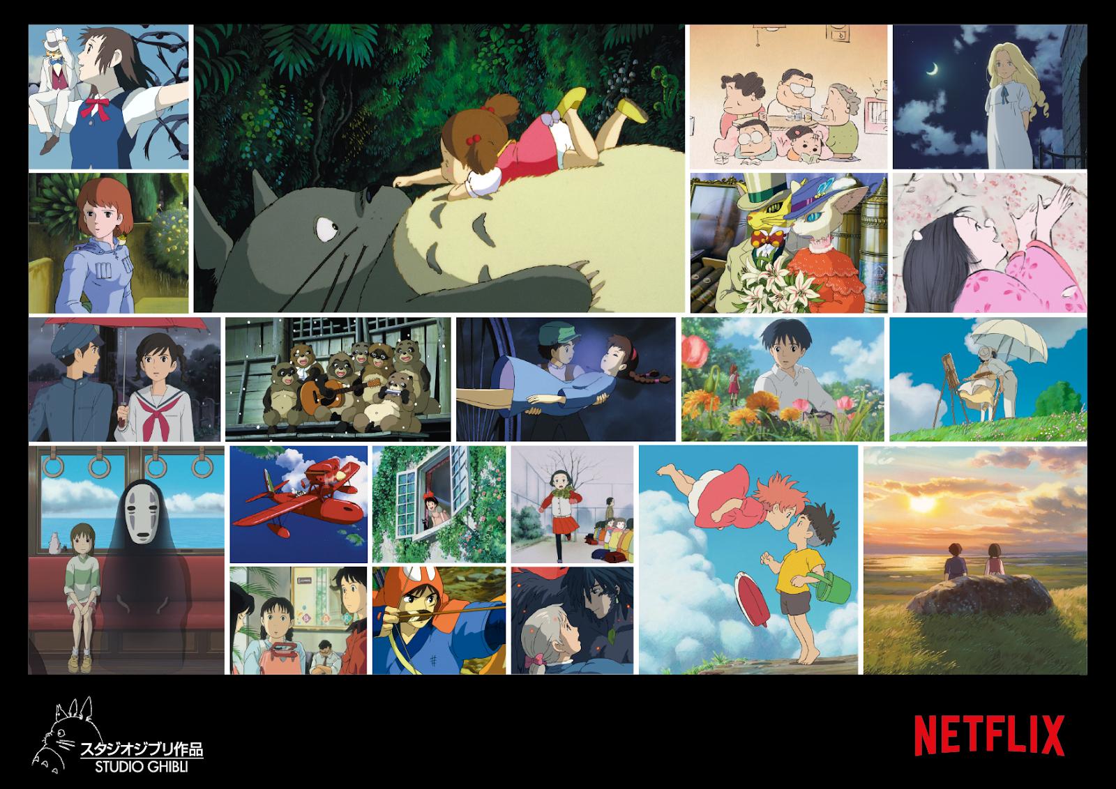 Studio Ghibli - Netflix