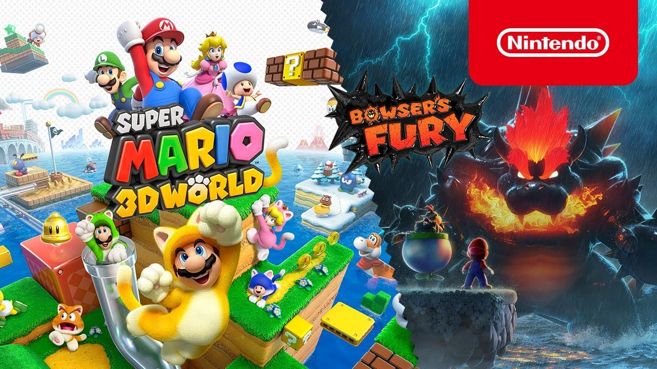 Super Mario 3D World + Bowser's Fury - Poster