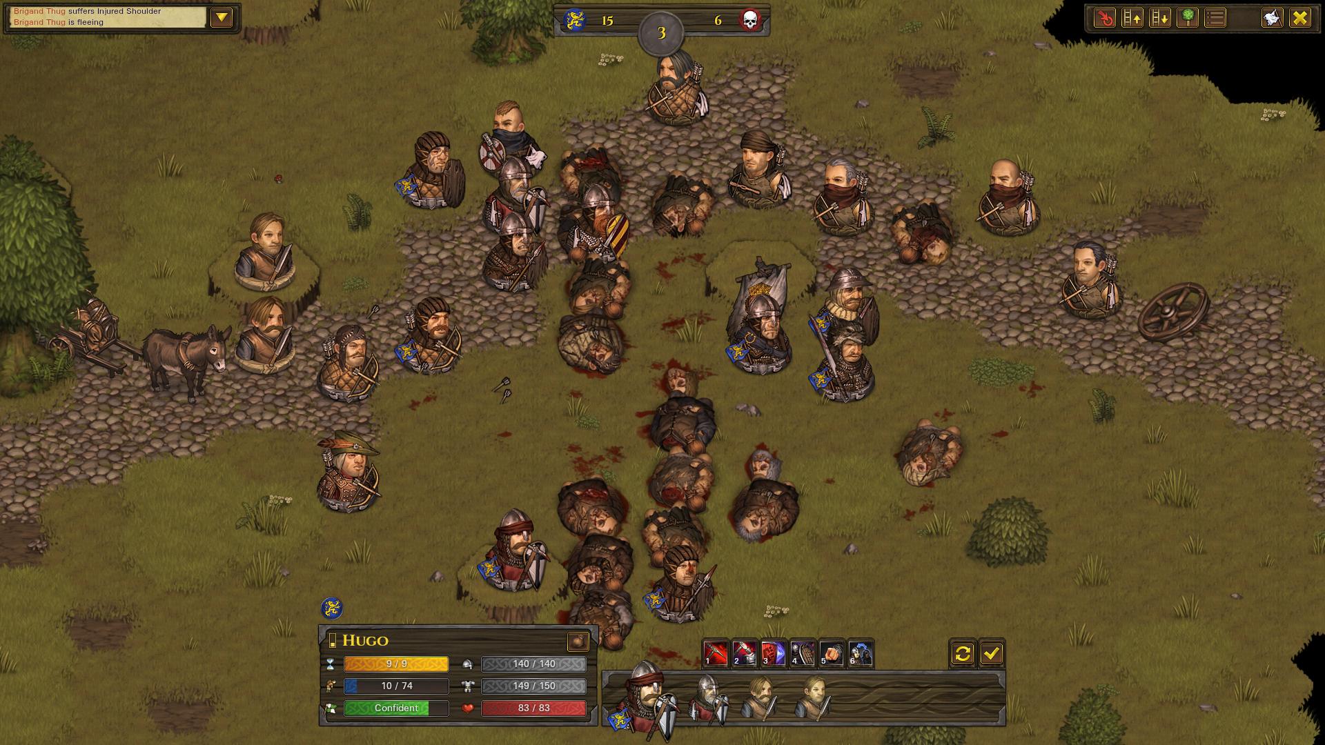 Battle Brothers - Combat