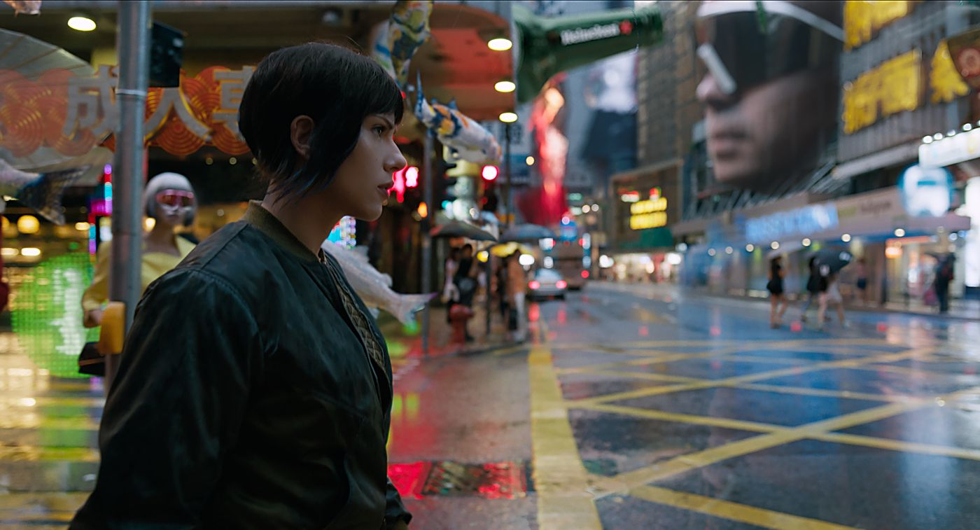 Ghost In The Shell - 2017 Streets