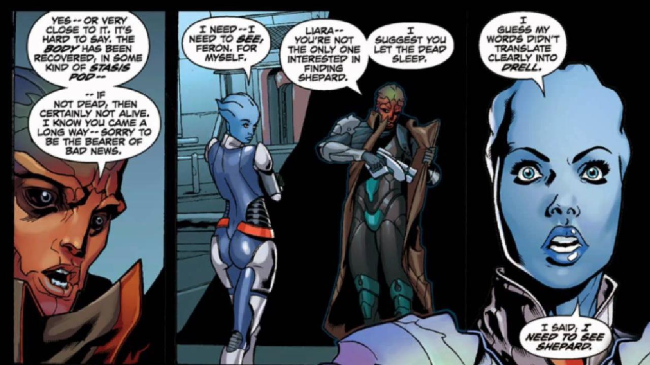 Comic Books - Mass Effect