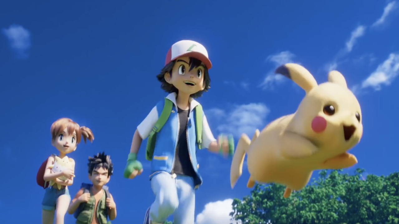 Pokémon  - Ash & Pikachu