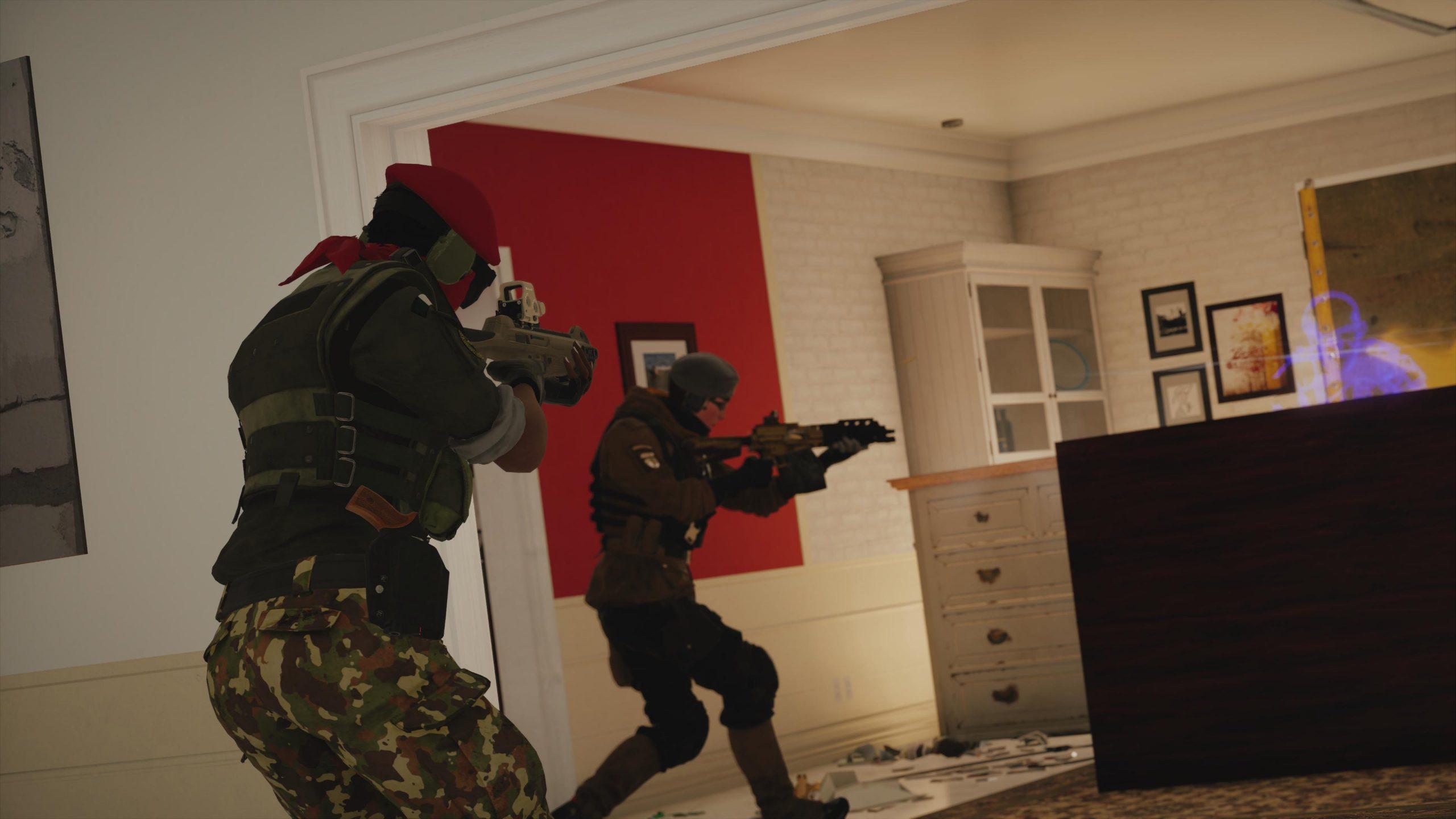 Rainbow Six Siege - Combat