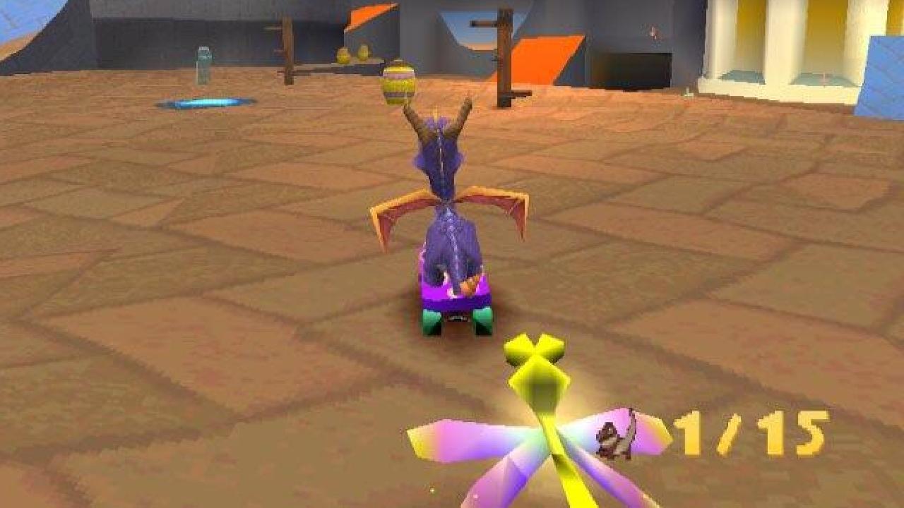 Spyro - Skateboard