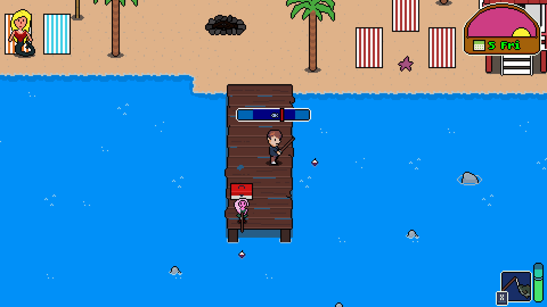 Village Monsters - Fishing