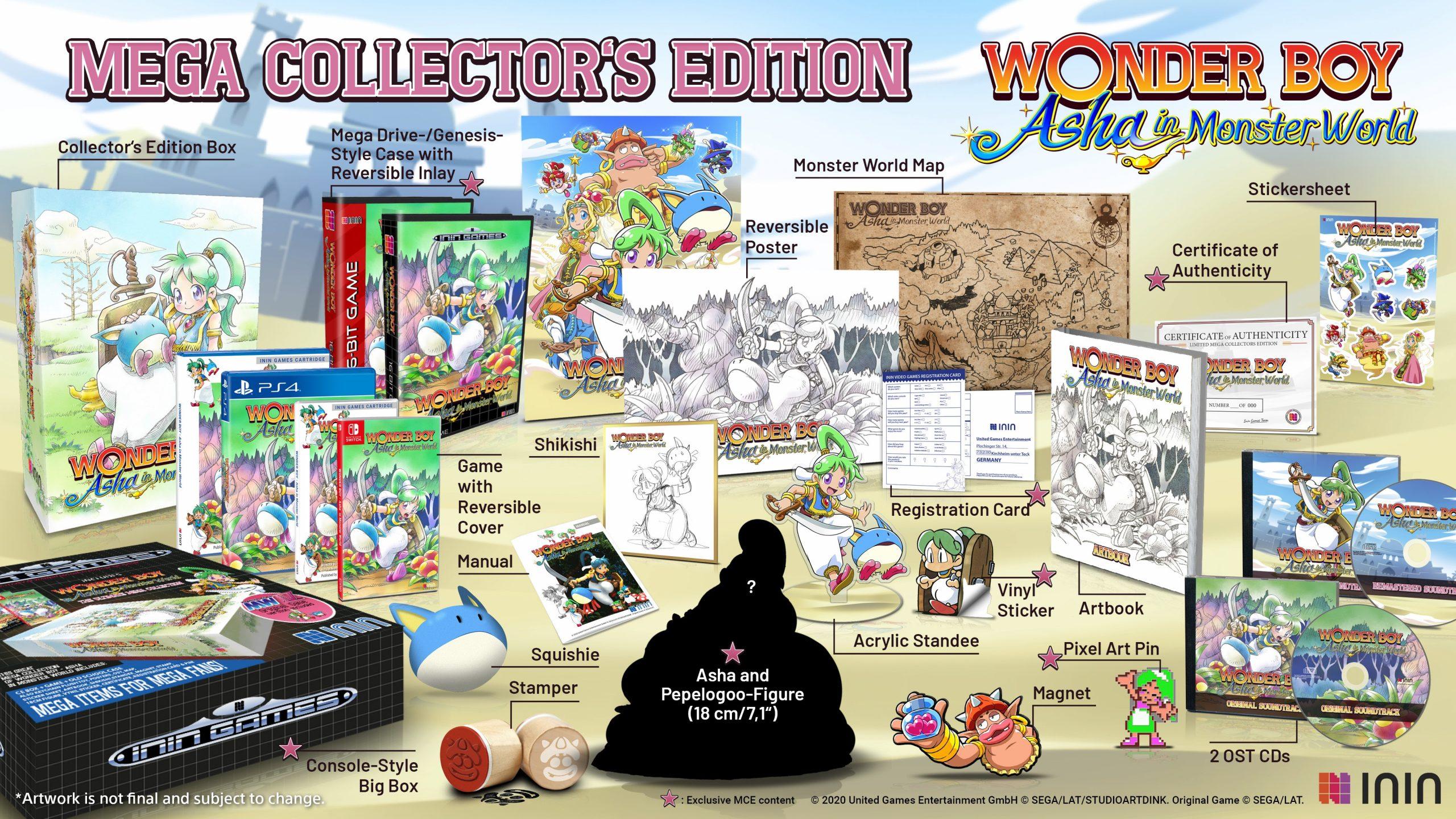 Wonder Boy: Asha In Monster Land - Physical Edition