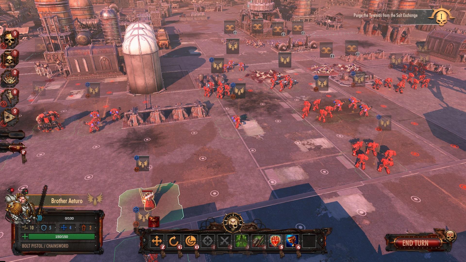 Warhammer 40,000: Battlesector - Gameplay