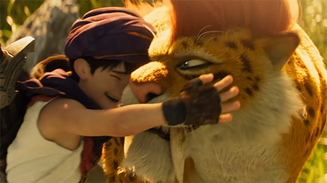 Dragon Quest - The Saber Cat