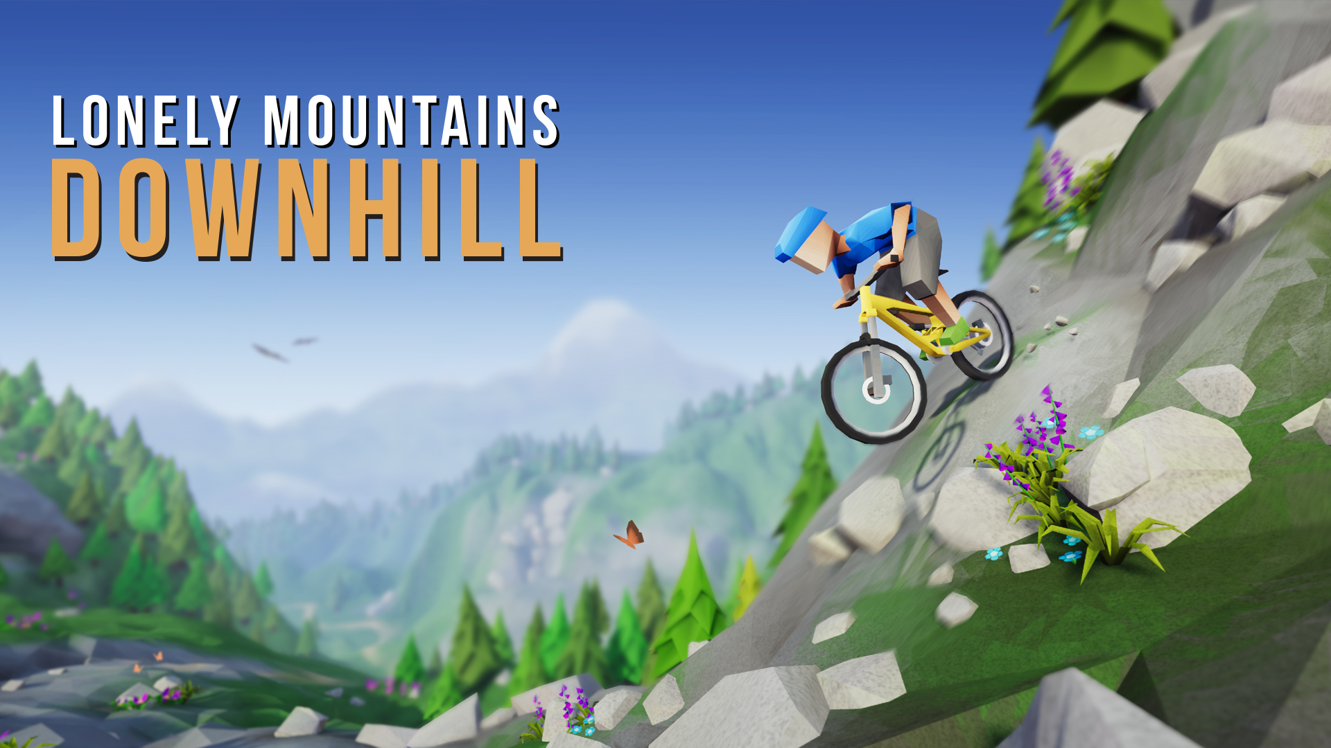 Lonely Mountains: Downhill - Logo