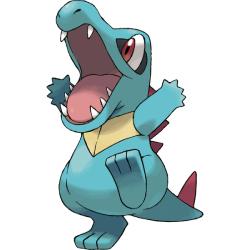 Starter Pokémon - Totodile