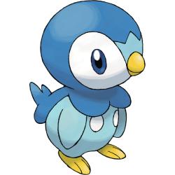 Starter Pokémon - Piplup