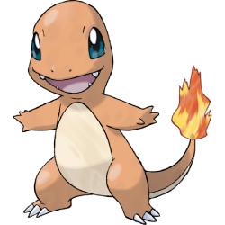 Starter Pokémon - Charmander