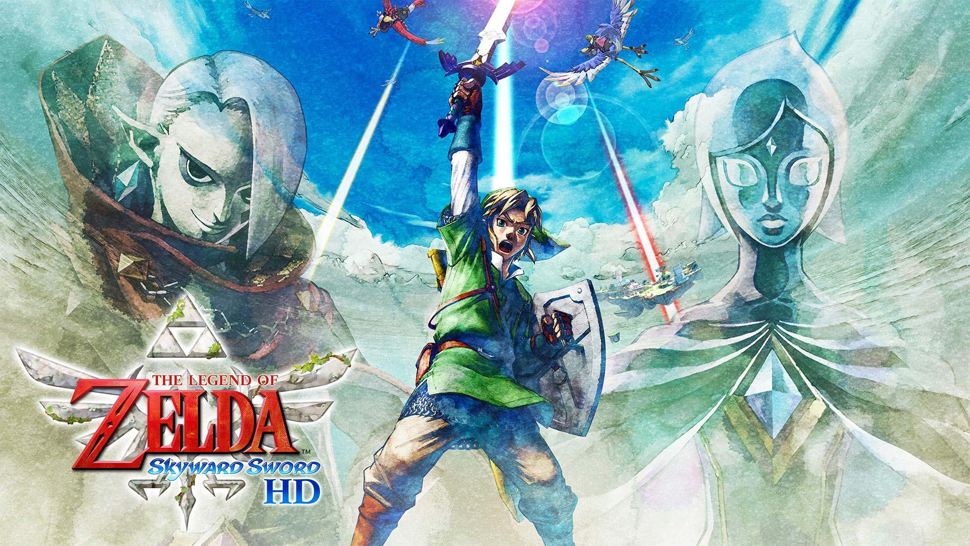 July - The Legend of Zelda: Skyward Sword HD