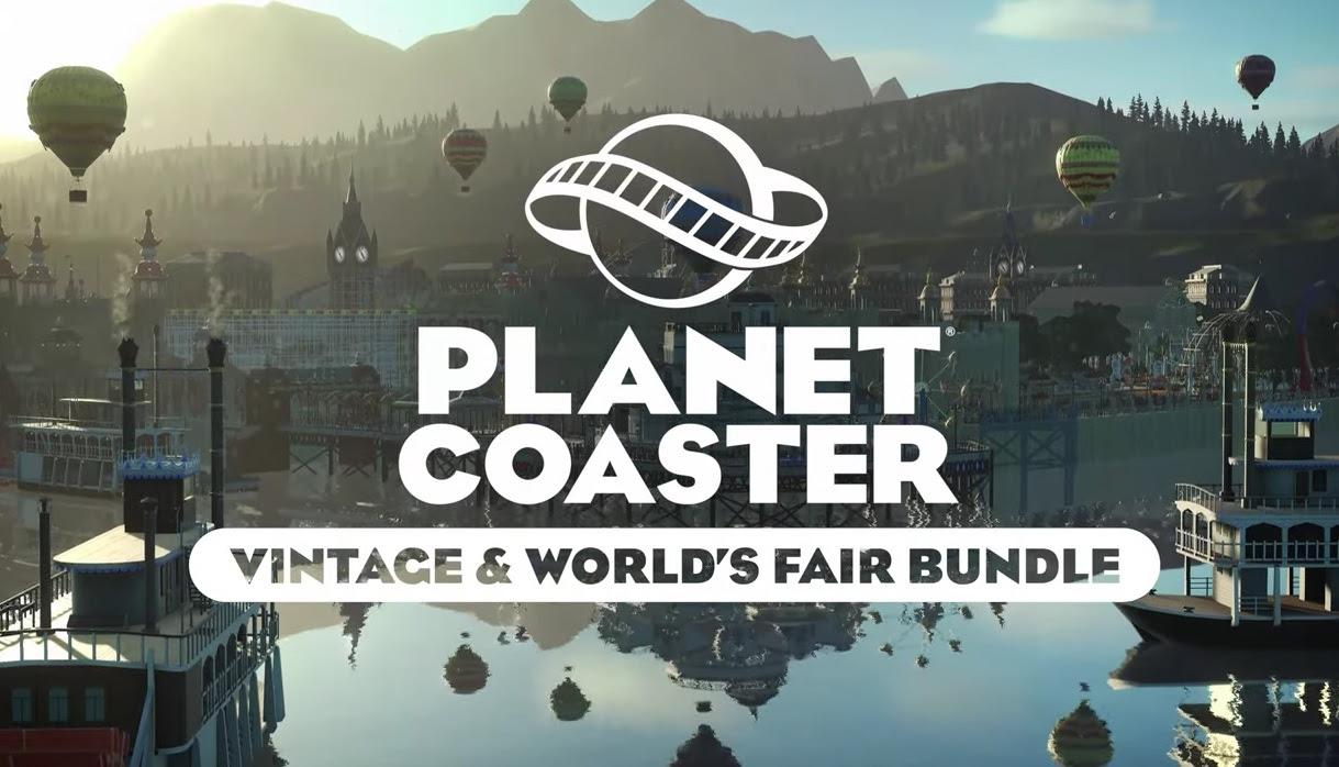 Planet Coaster - Vintage & World's Fair Bundle