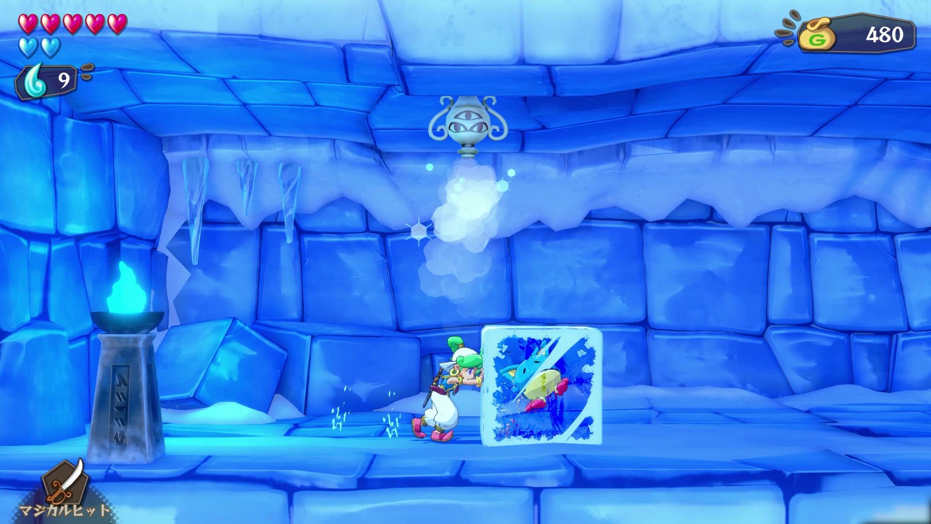 Wonder Boy: Asha In Monster Land - Gameplay
