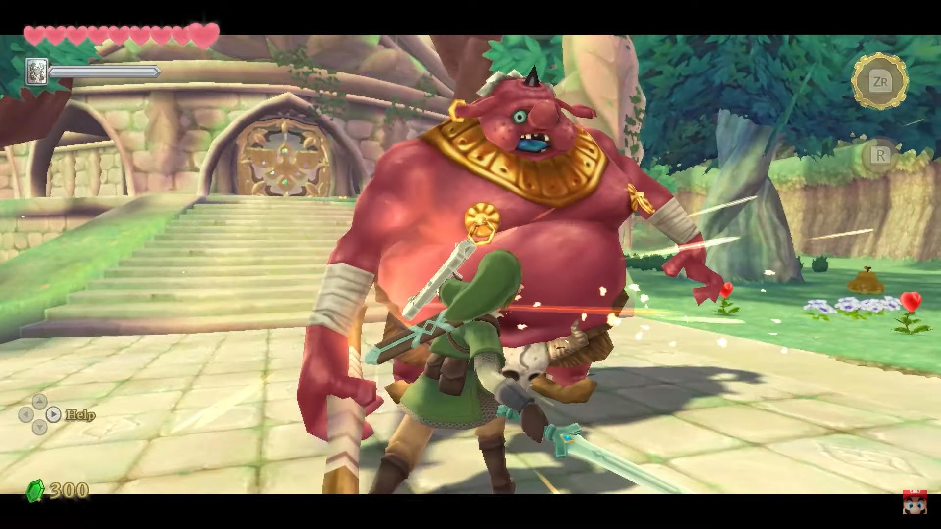 The Legend of Zelda: Skyward Sword HD - Combat