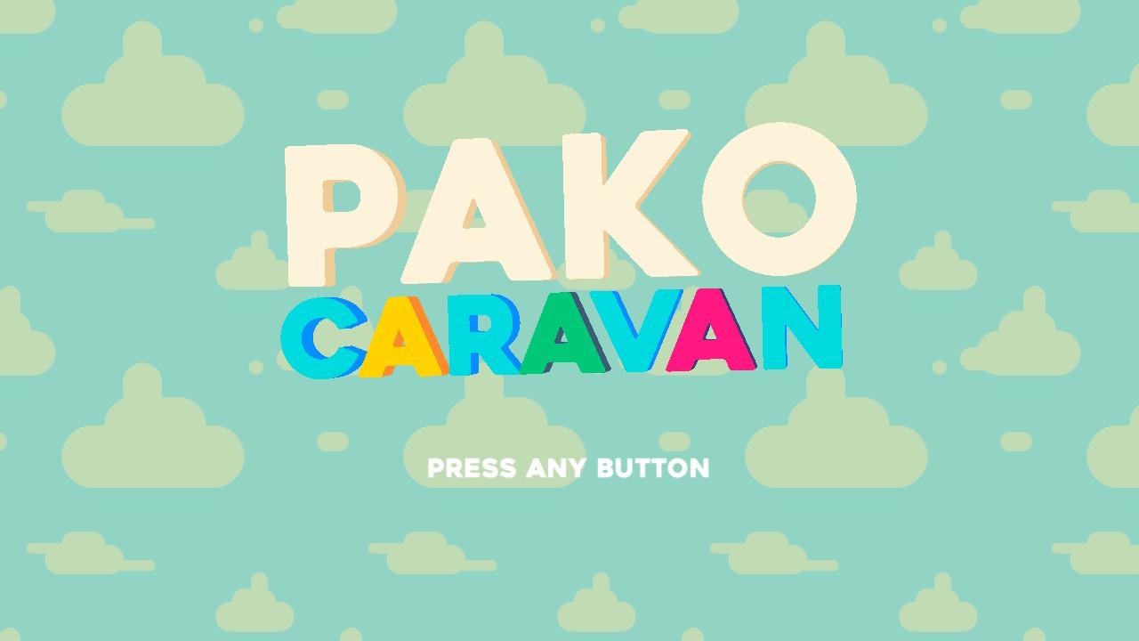 Pako Caravan - Menu