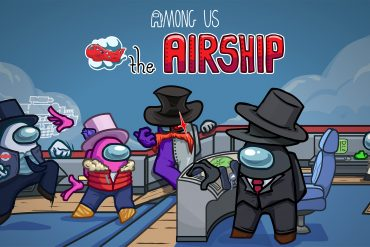 Among Us airship