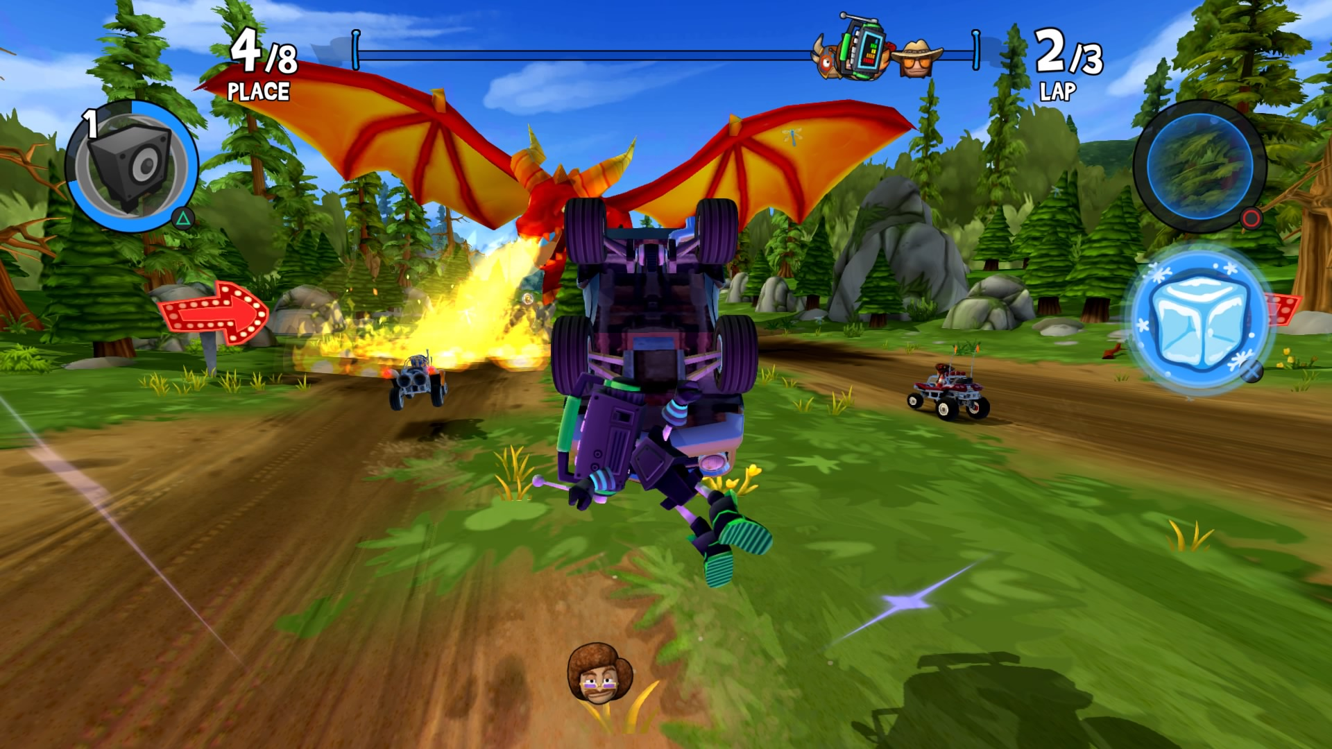 Beach Buggy Racing 2 - Gameplay