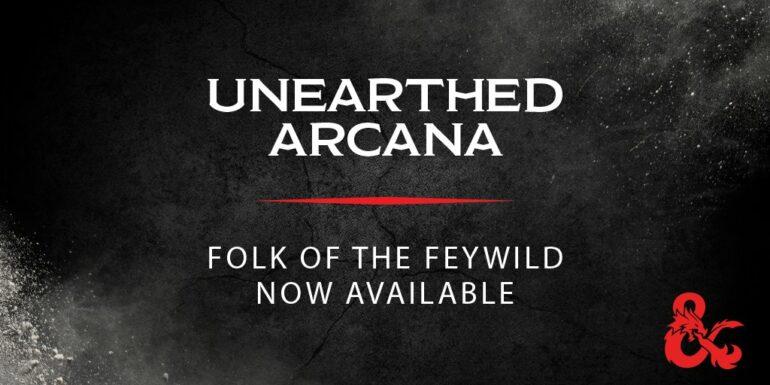 Folk of the Feywild Poster