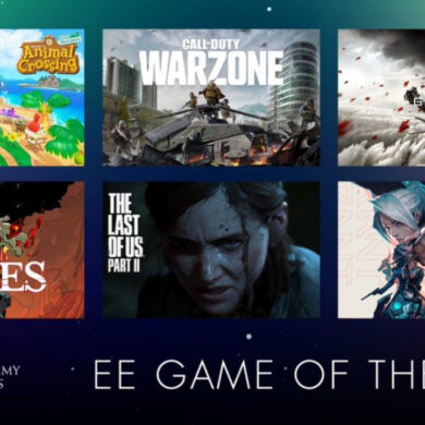 EE Game of the Year Award - Feature Image