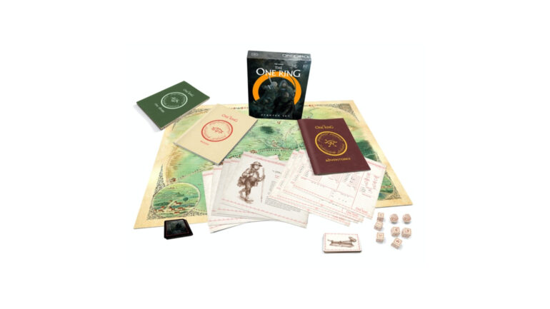The One Ring game contents