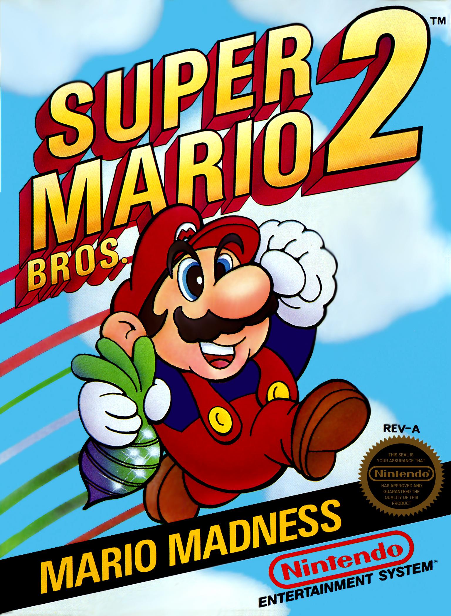 Mar10 - Super Mario Bros 2